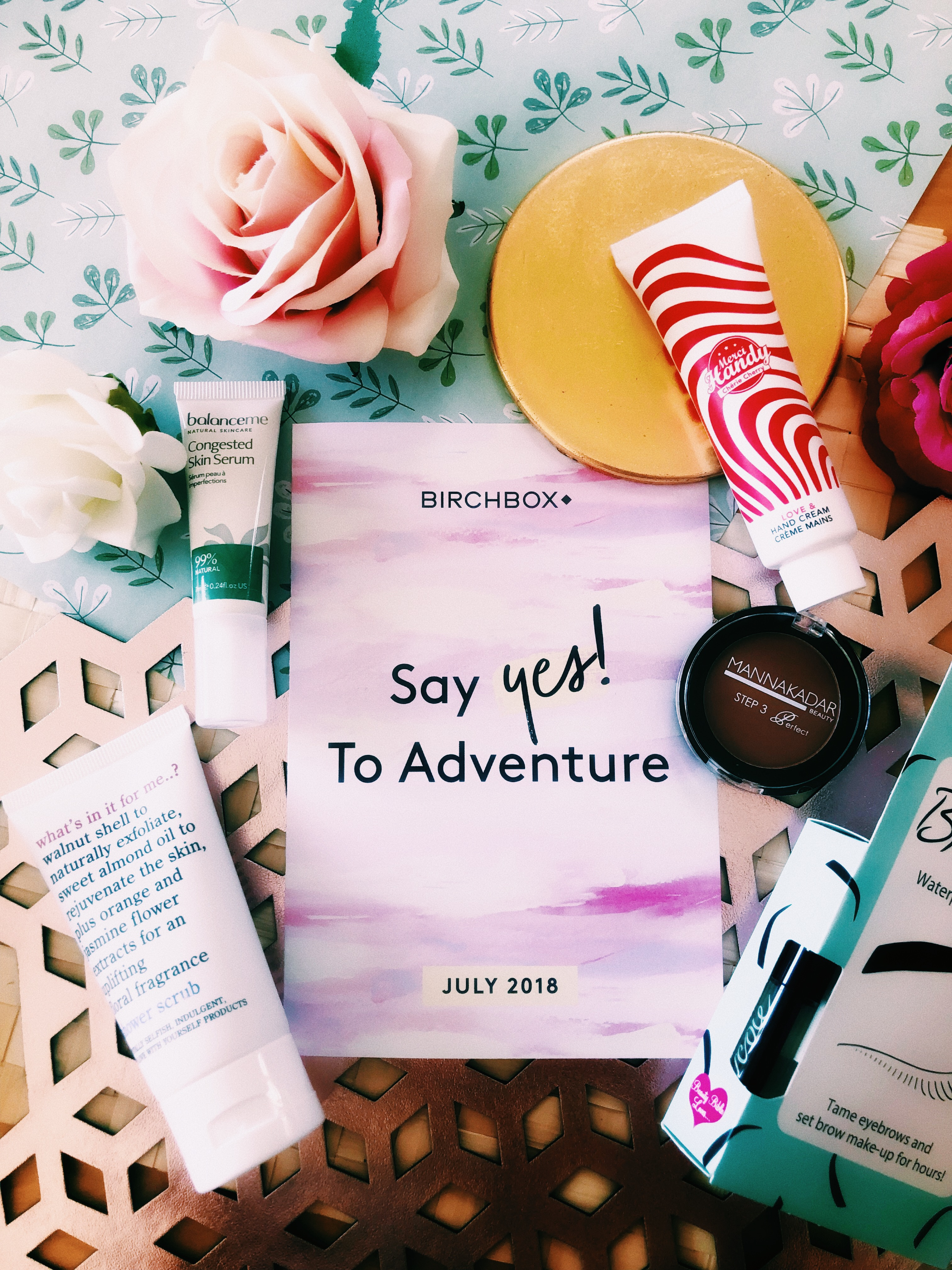 BIRCHBOX JULY 2018: SAY YES TO ADVENTURE – REVIEW