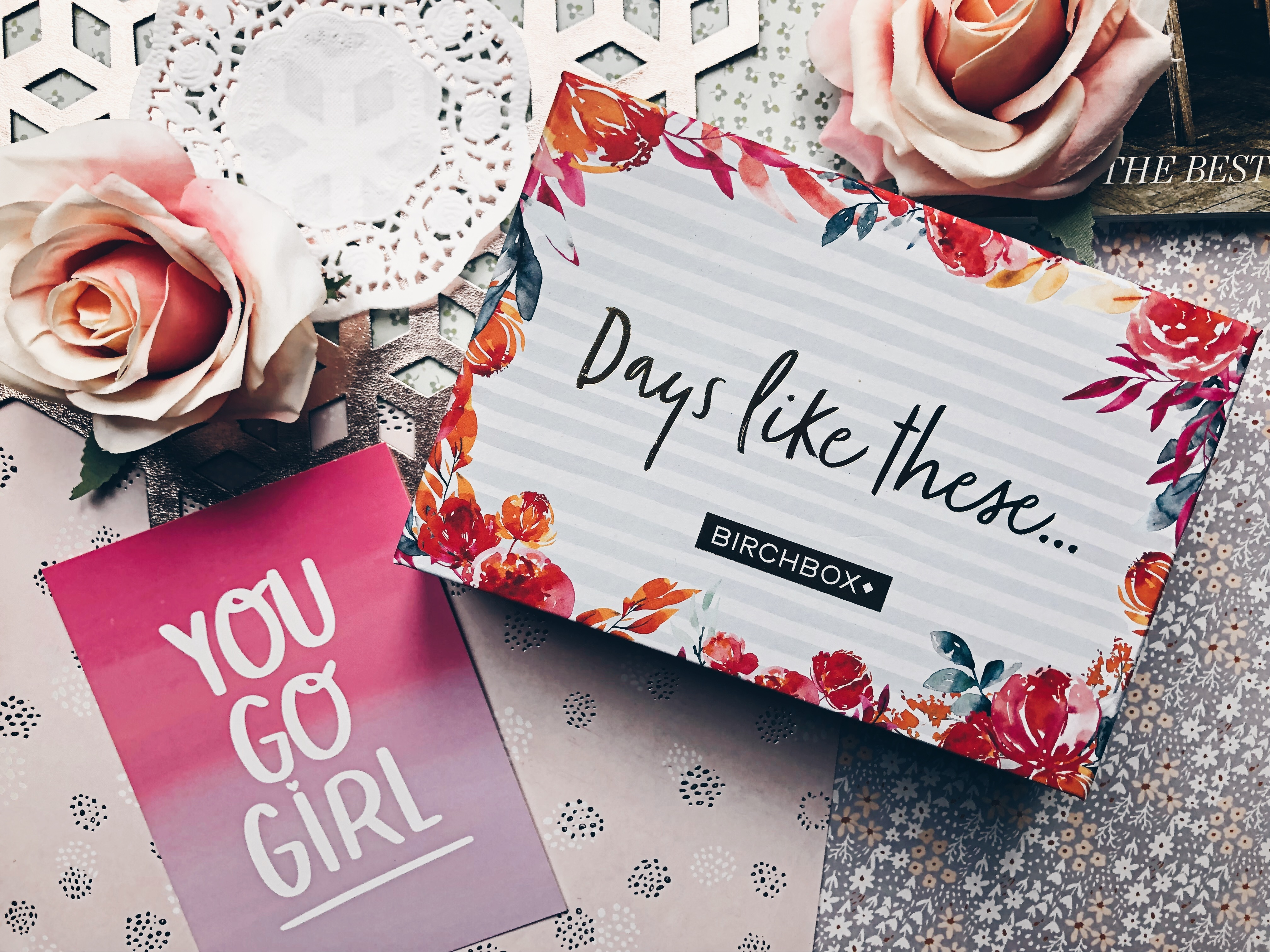 BIRCHBOX OCTOBER 2018: DAYS LIKE THESE – REVIEW