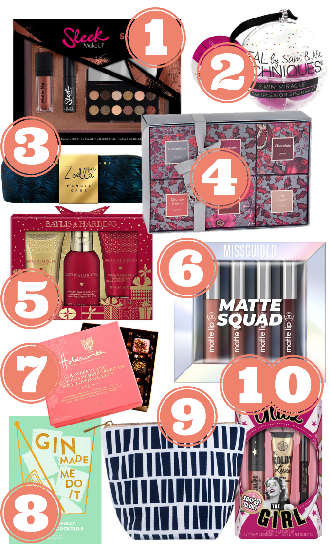 Gifts Under For Her Under £10