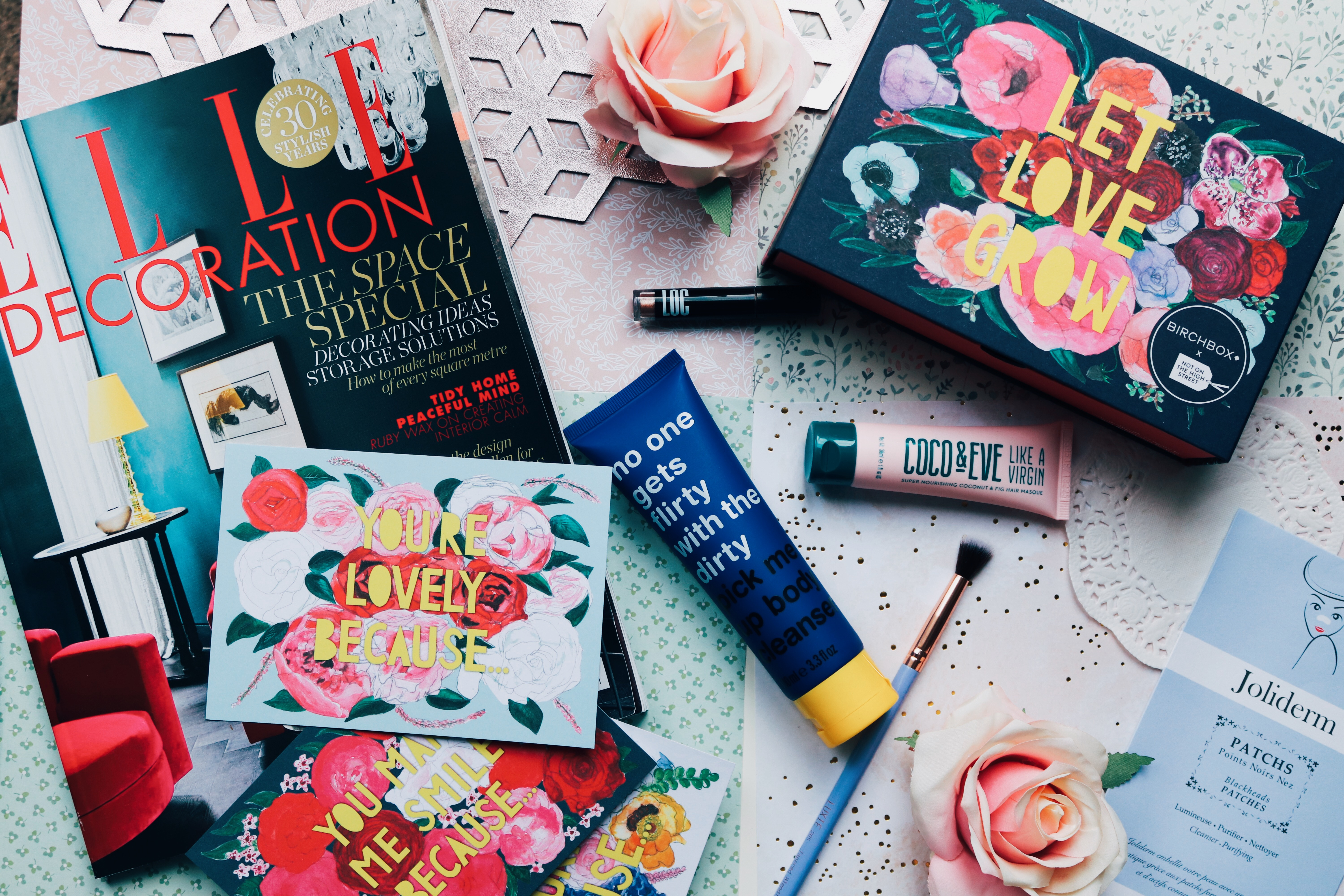 BIRCHBOX FEBRUARY 2019: LET LOVE GROW – REVIEW