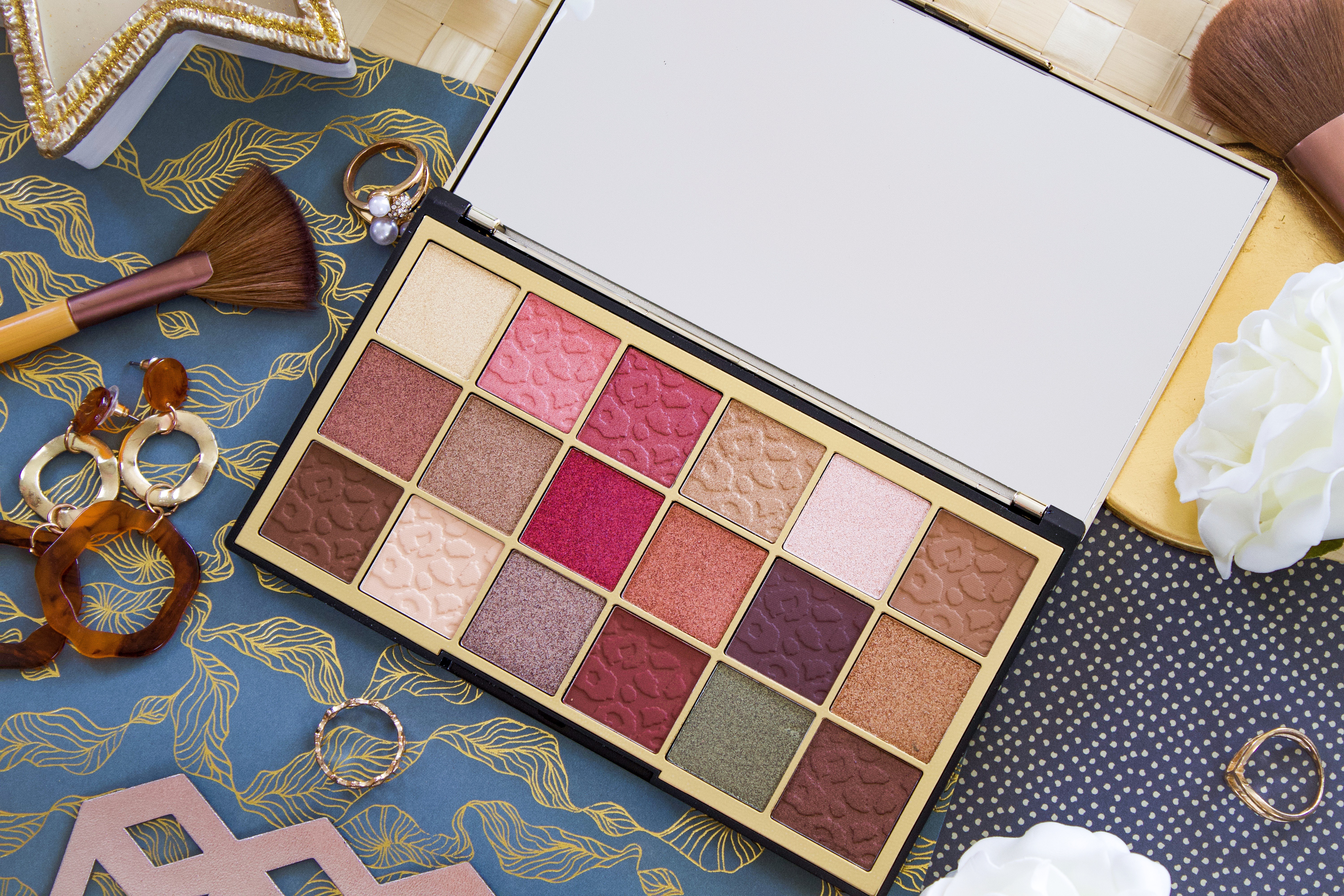 MAKEUP REVOLUTION: WILD ANIMAL COURAGE PALETTE REVIEW, SWATCHES & PHOTOS