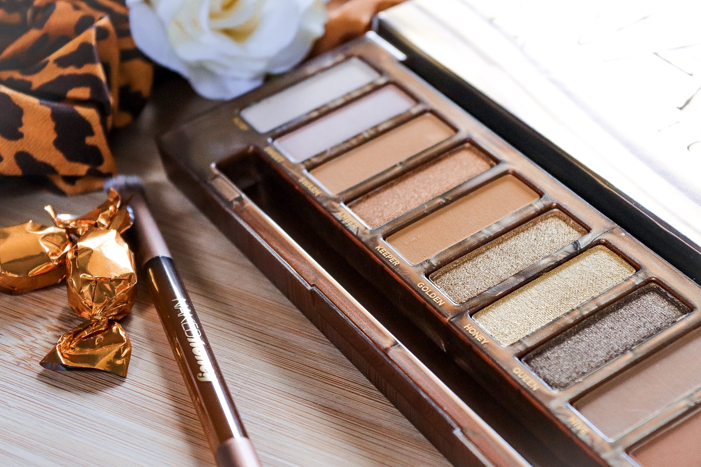 URBAN DECAY- NAKED HONEY PALETTE – REVIEW & SWATCHES