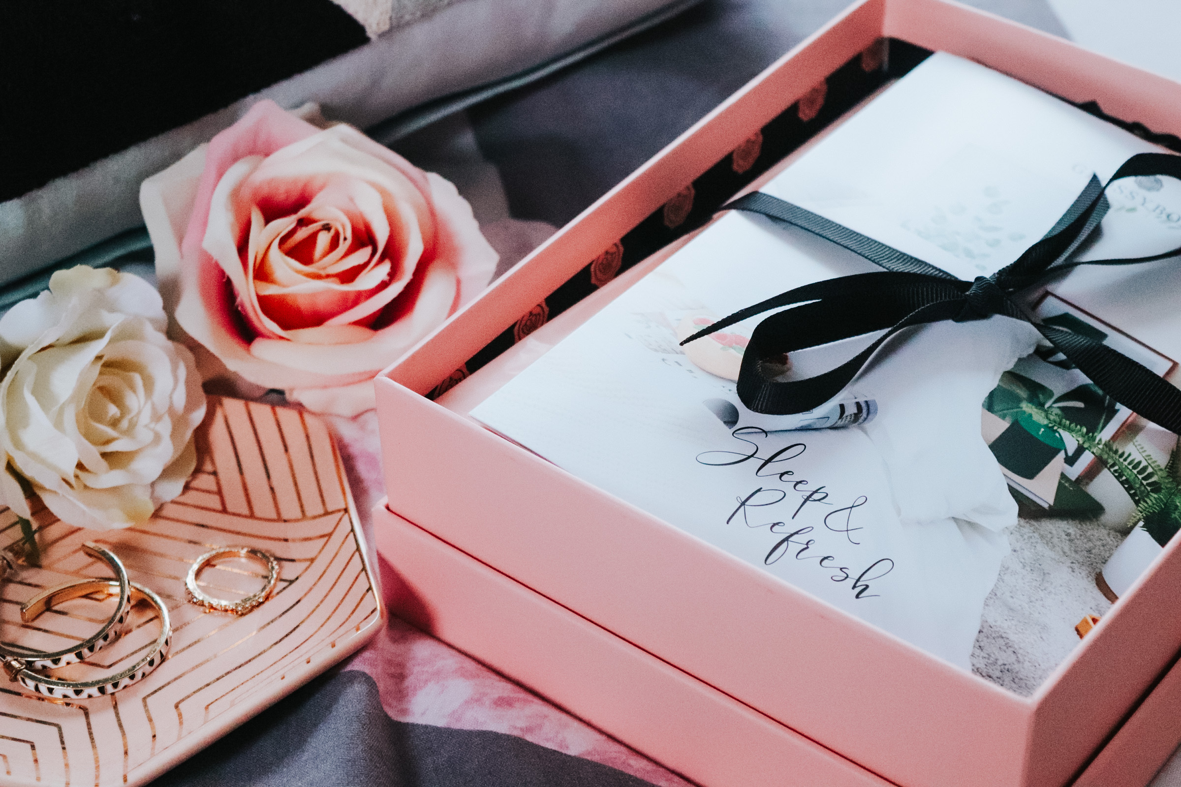 GLOSSYBOX JANUARY 2020: SLEEP & REFRESH – REVIEW