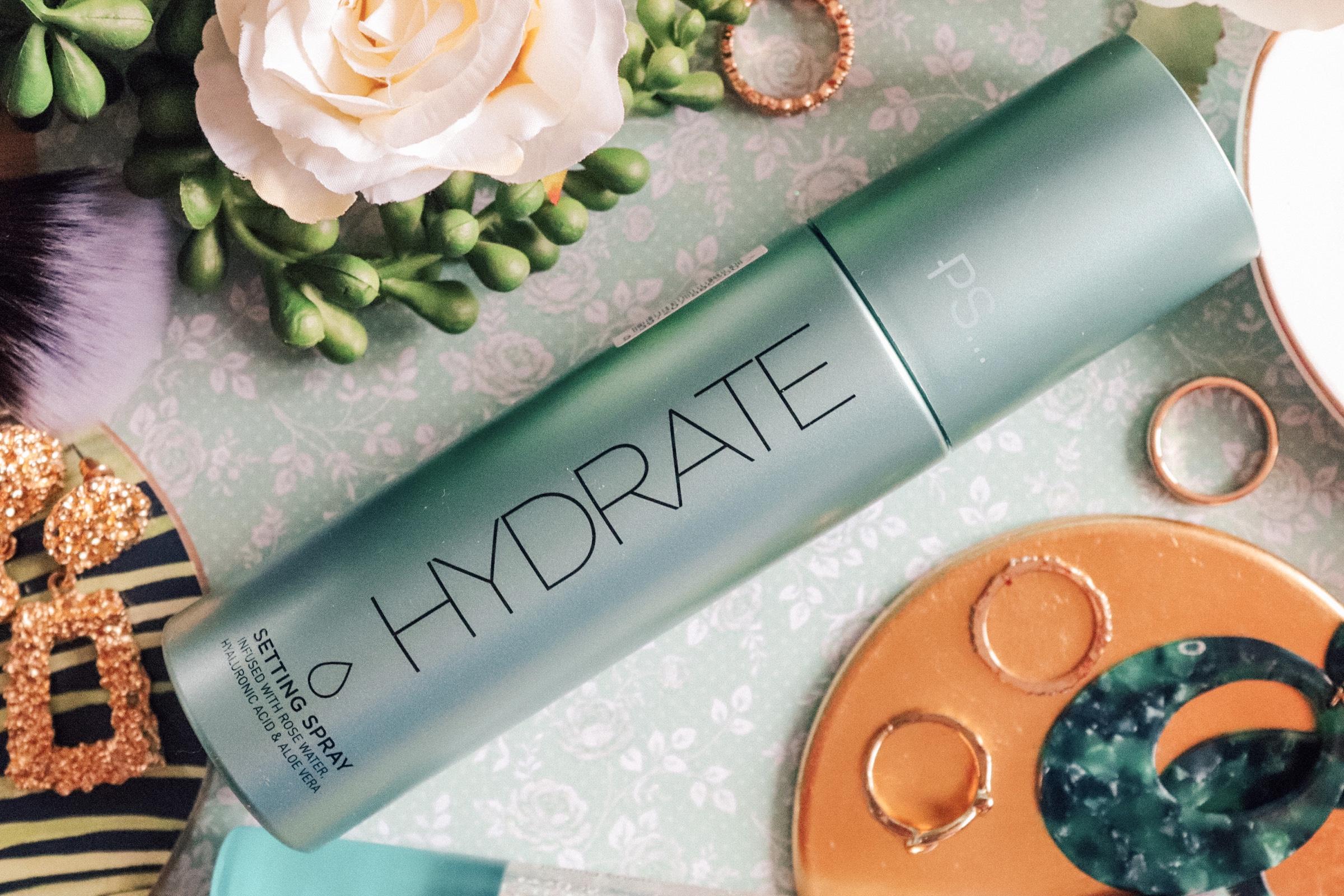 TESTING PRIMARK'S – 'HYDRATE' SETTING SPRAY